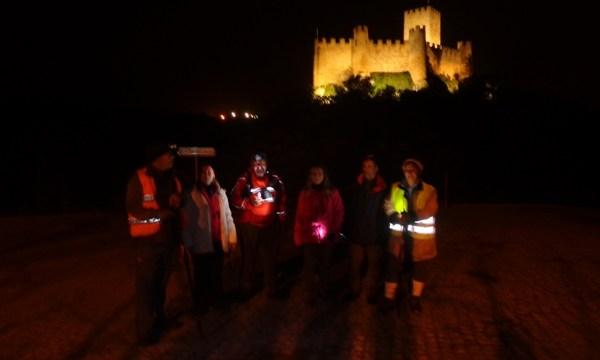 Caminhada Noturna ao Castelo de Almourol by CLAC