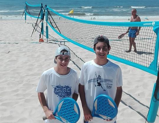 O CLAC no Campeonato Regional de Ténis de Praia