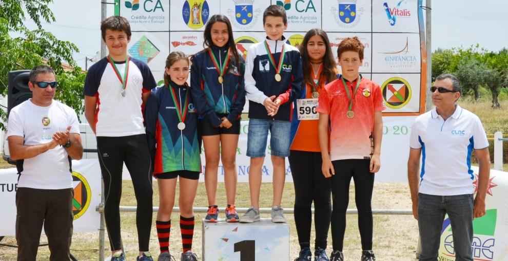 campeonato nacional de distância sprint e distância longa em orientação