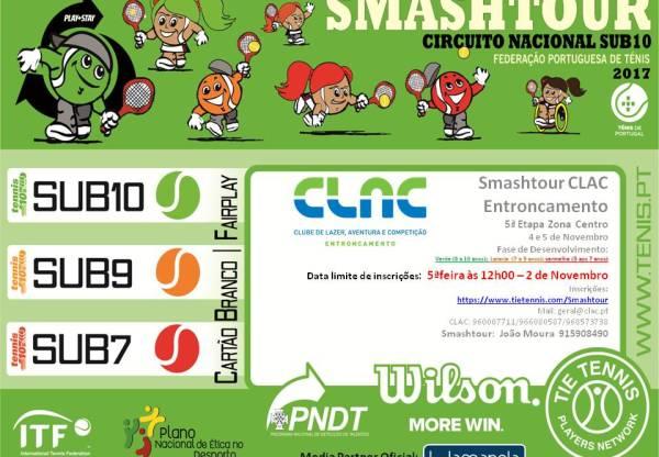 Smashtour CLAC Entroncamento – Horários/Ordem de Jogos