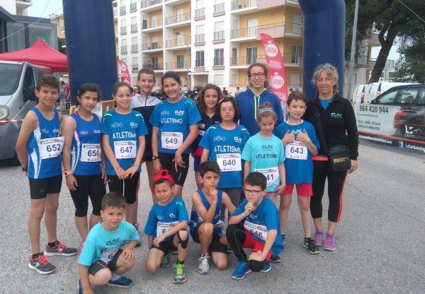 CLAC com 6 pódios no 4º GP Atletismo Casa Benfica em Abrantes