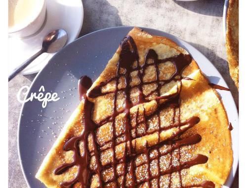 Quoi de meilleur qu'une bonne crêpe au chocolat ? ♥️