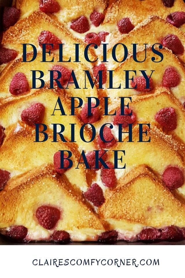 Delicious Bramley Apple Brioche Bake