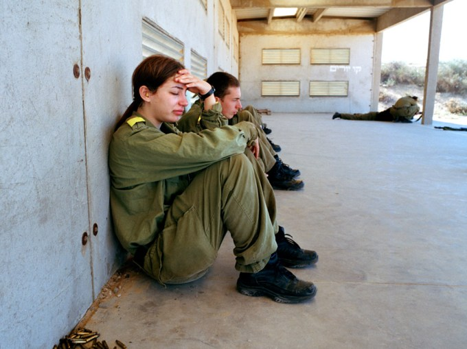 Rachel Papo, Before first shooting practice, Nitzanim, Israel