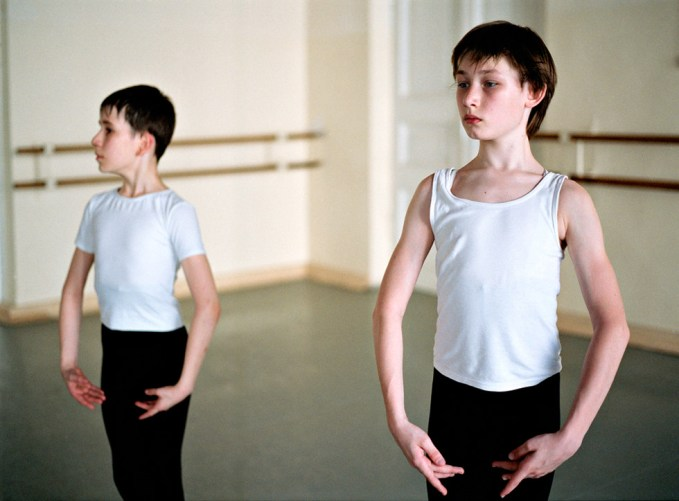 Rachel Papo, Two 2nd class boys, Ballet, St Petersburg, Russia