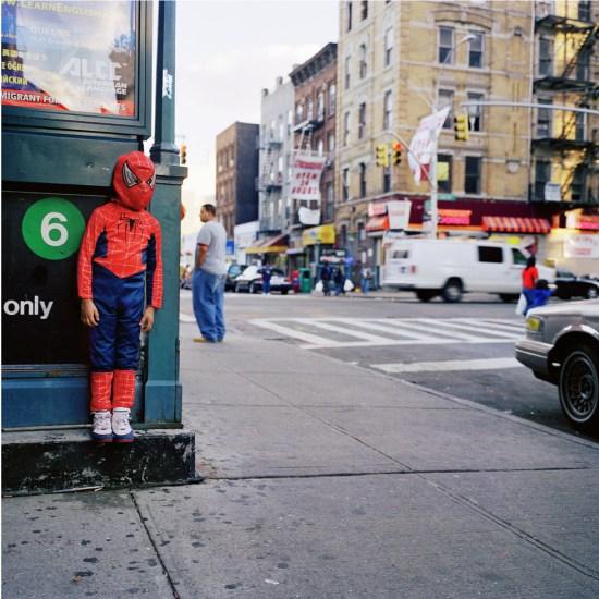 Amy Stein, Untitled (Spiderman)