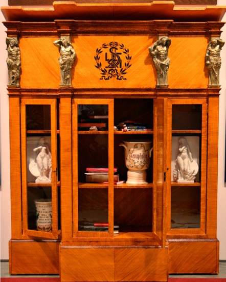 Mark Beard, Ideology Bookcase Treasure Coffer