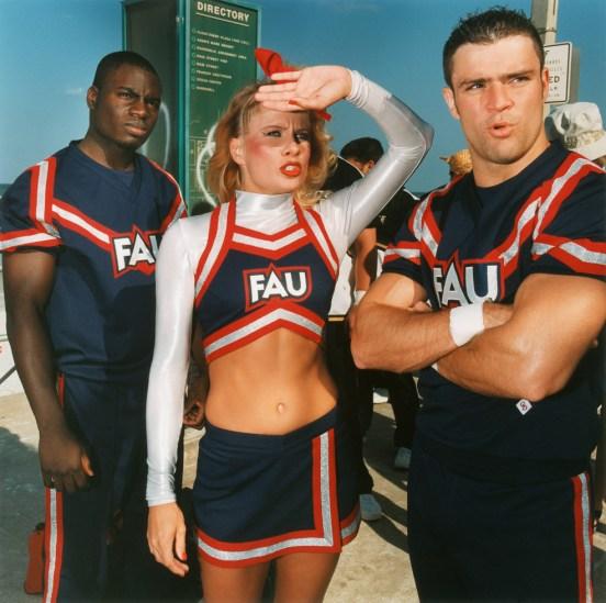 Brian Finke, Untitled (Cheerleading 81)