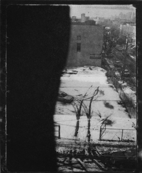 Mark Morrisroe, Untitled (View from Jersey City Apartment)