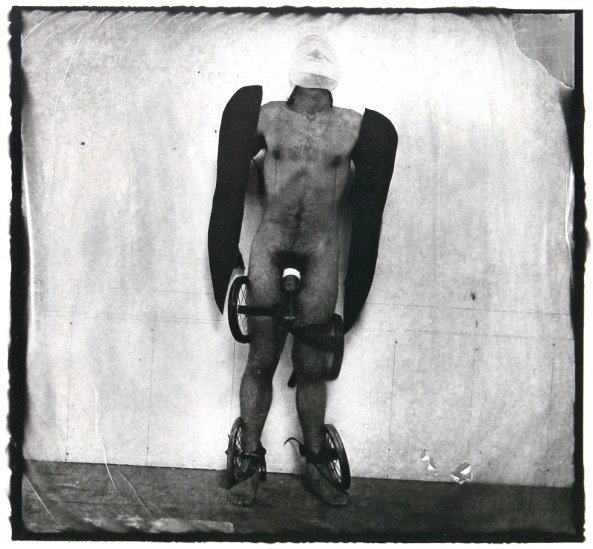 Witkin, Man With Wings and Wheels