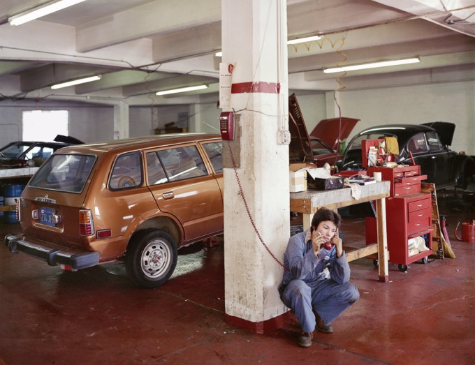 """Janet Delaney, Labyris Auto Repair, """"Complete Car Care By Women"""", 240 6th Street"""