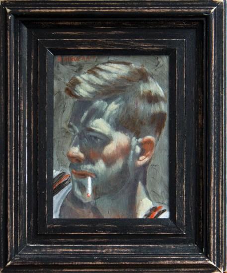 Mark Beard, [Bruce Sargeant] Young Man Smoking