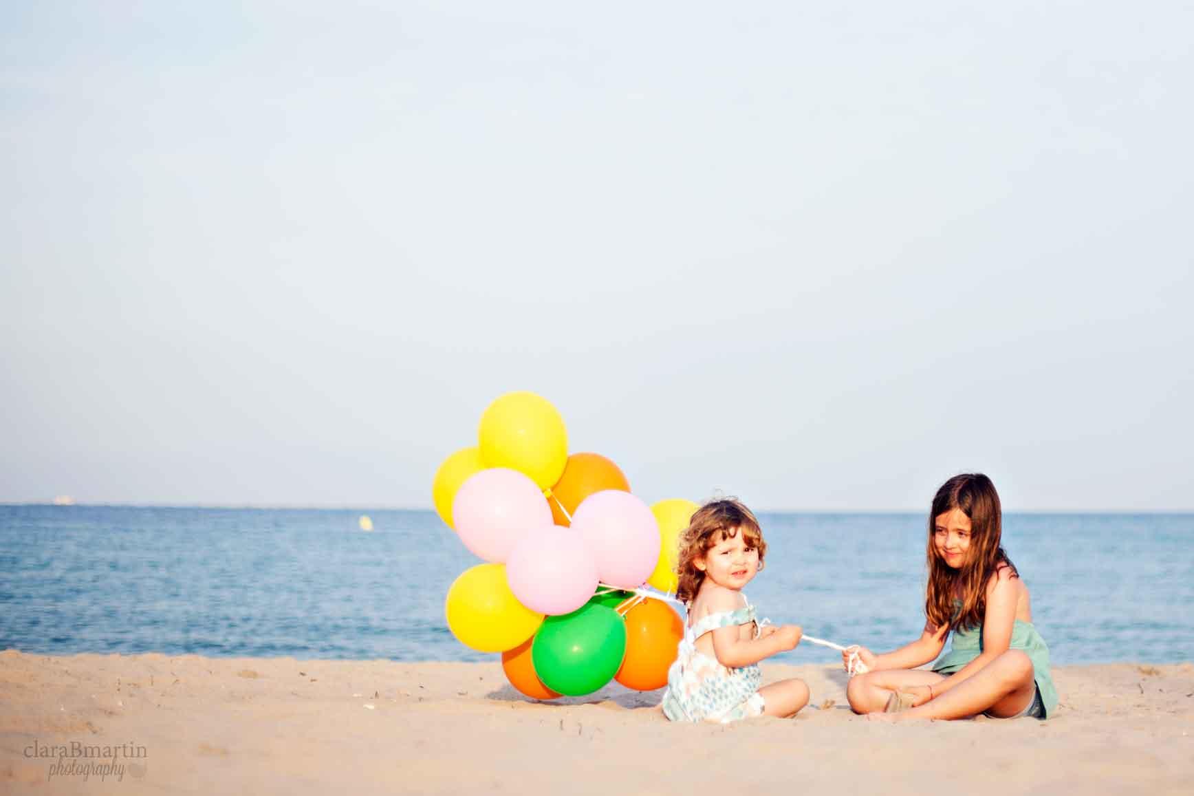 fotos con globos