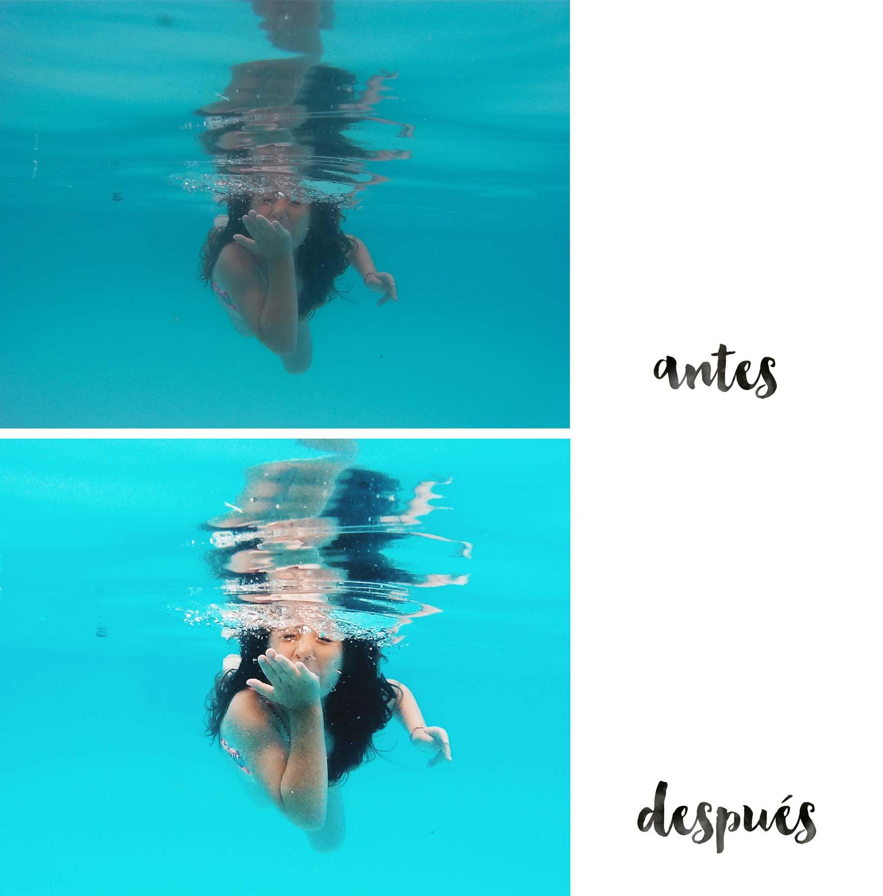 Como editar las fotos bajo el agua clarabmartin Imagenes de hoteles bajo el agua