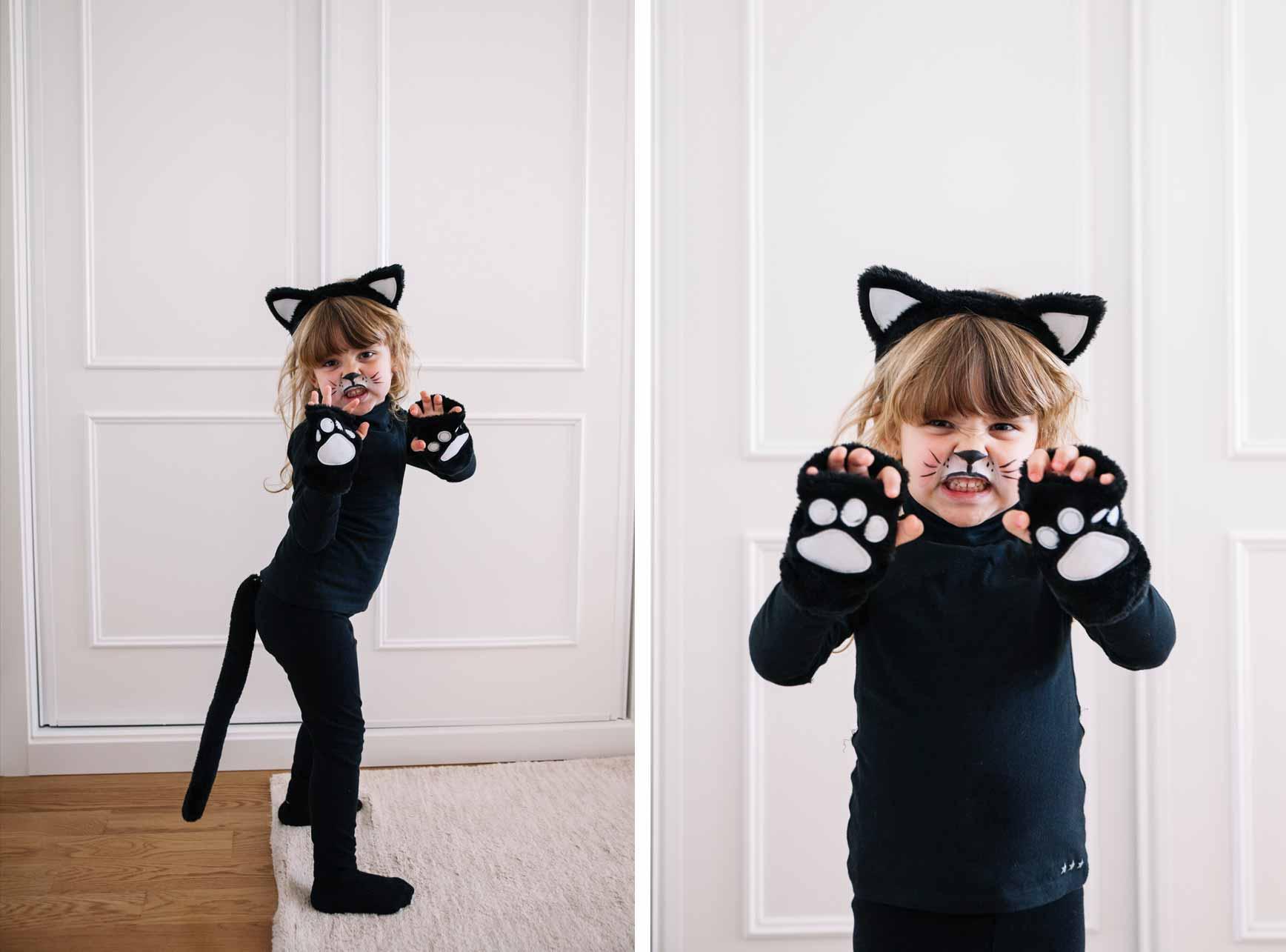 Halloween disfraz casero de it clarabmartin - Disfraces de gatos para ninos ...