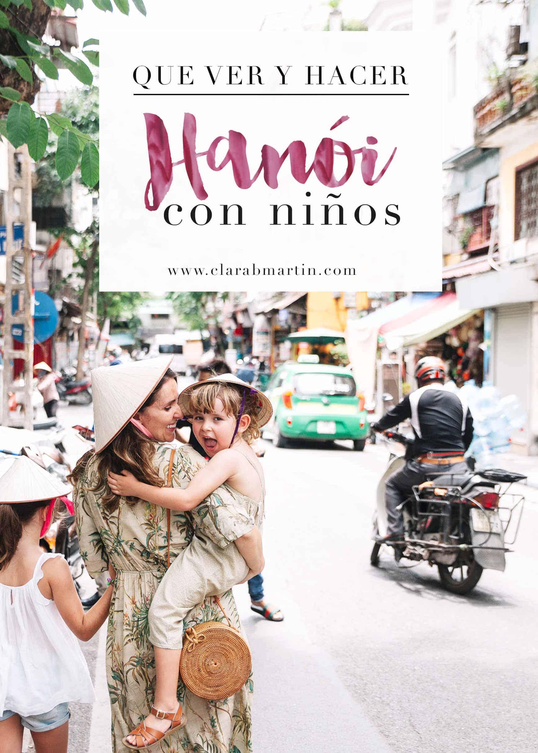Hanoi-con-niños