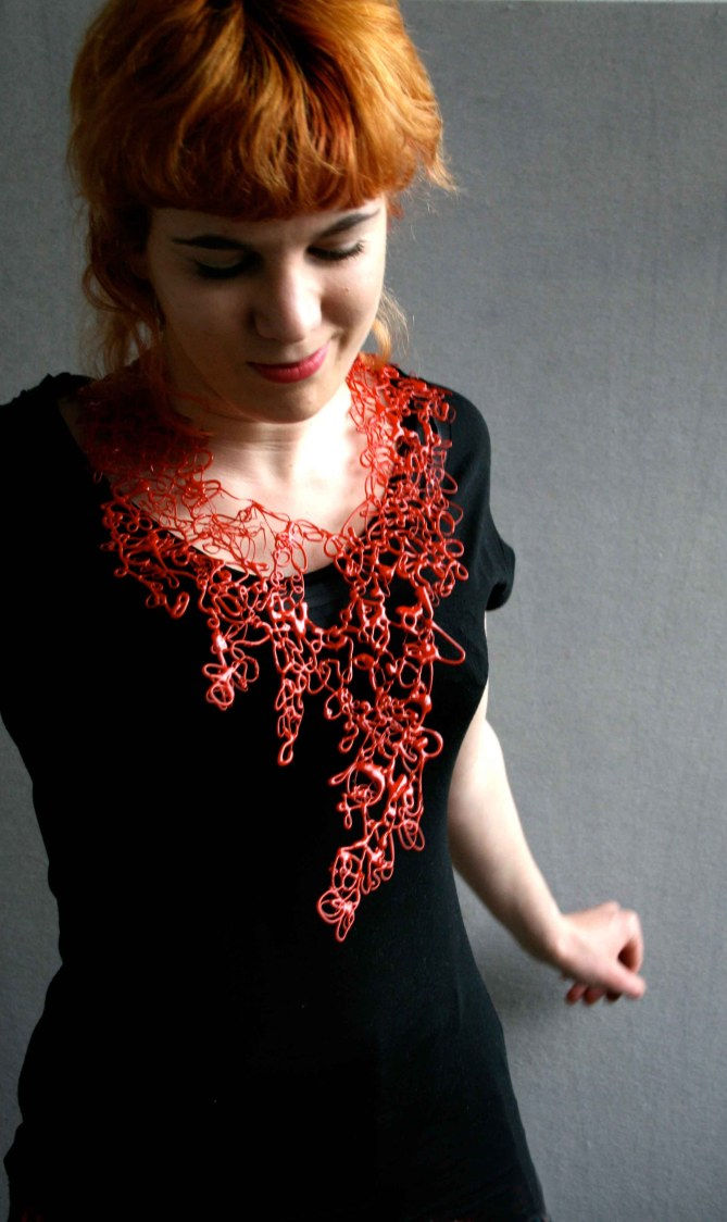 Dribble Necklace by Clare Knox-Bentham
