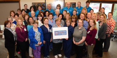 clarke county hospital received top 100 award