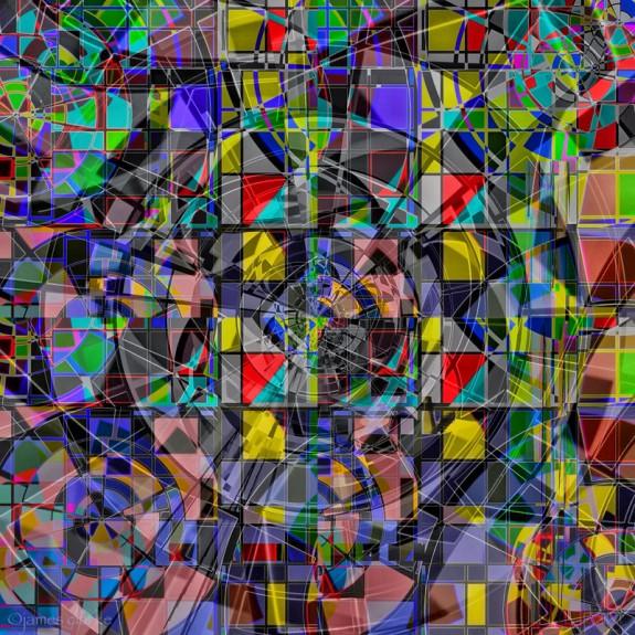 If Mondrian Dropped Acid