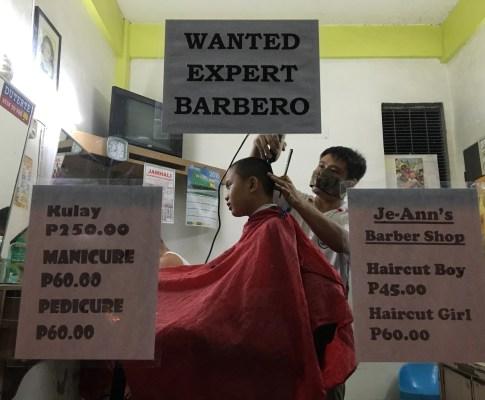Barbers' Tales (Mga Kuwentong Barbero): Benjie B