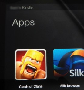 Clash of Clans for the Kindle Fire, HD, HDX