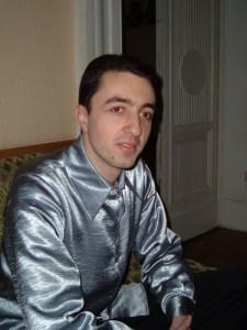 Ukrainian guitarist David Grigoryan