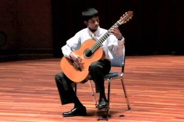 Congratulations to Ashwin Krishna for winning First Place in the Parkening International Guitar Competition, Young Guitarist Competition.