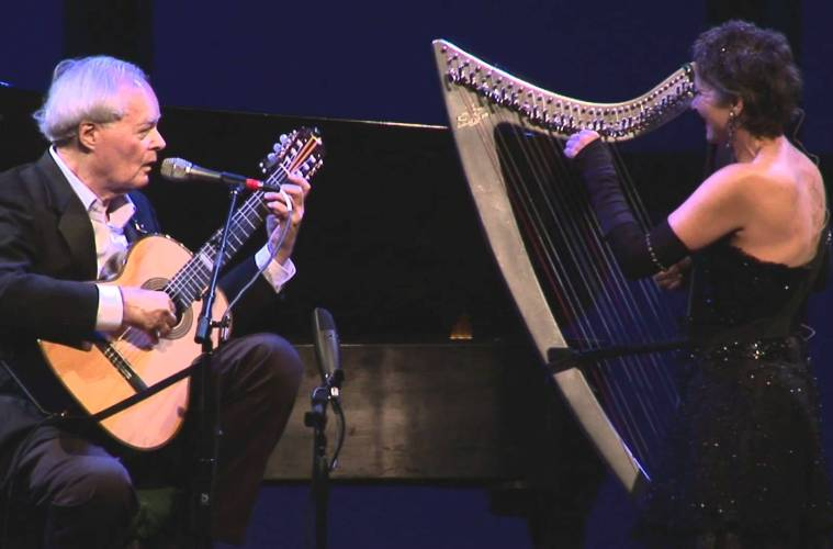 "Throwback Thursday: Mason Williams and Harpist Deborah Henson-Conant Perform ""Classical Gas"""