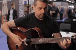 Ben Woods Demos the Orega Guitars Eclipse NAMM 2016