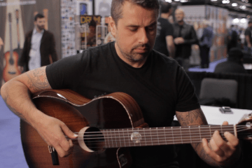 Ben Woods Demos the Orega Guitars Eclipse NAMM 2016