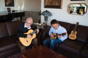 Daniel Ho Pepe Romero Aloha Espana Ukulele Classical Guitar duet