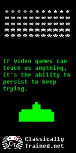 quote space invaders classically trained