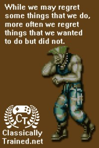 guile face palm street fighter classically trained regret