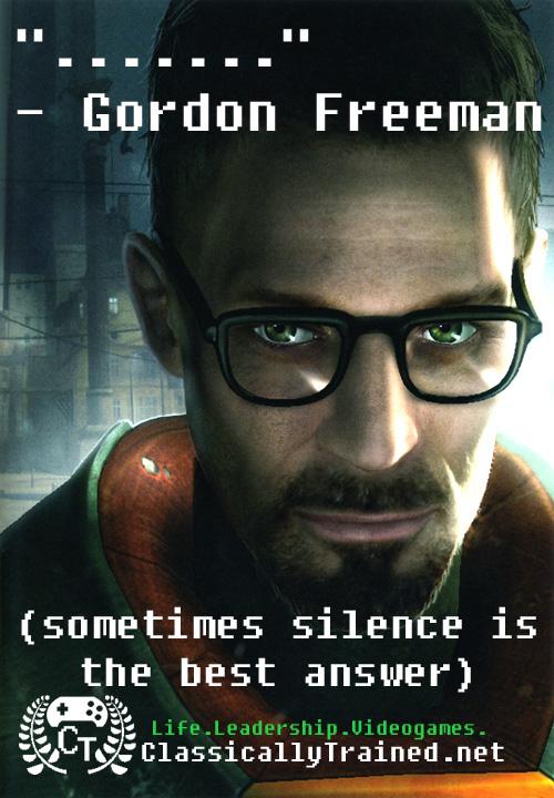 video game quotes half life gordon freeman valve