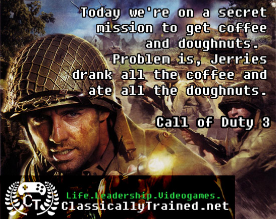 coffee video game quotes call of duty
