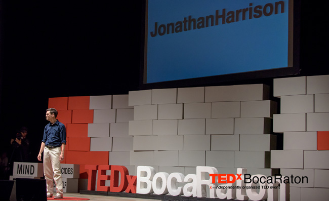 TEDxBocaRaton Jonathan Harrison Video Games Success