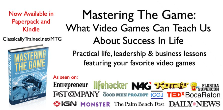 video game life lessons book leadership videogames success