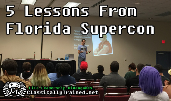 florida supercon 2015 lessons video games