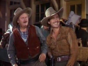 Dodge City 1939 Errol Flynn and Alan Hale