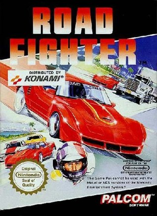 NES Road Fighter PAL