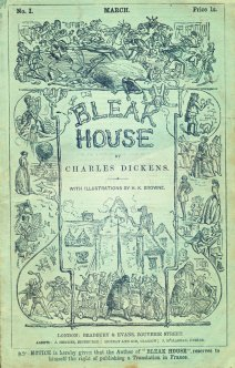 bleak house first edition cover