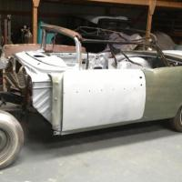 Most parts included: 1957 Chevrolet Bel Air Convertible