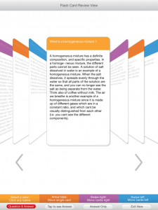 Synopsis Flash Cards in a Flash! An iPad Study Tool
