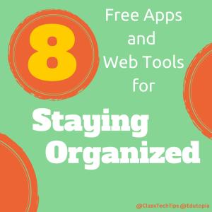 8 Staying Organized