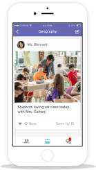 New from ClassDojo: Class Story for Family Communication