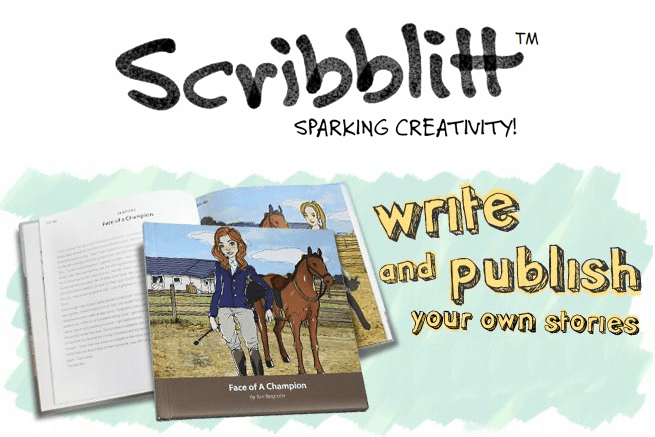 Publish Student Work with Scribblitt: Online to Hardcover Books