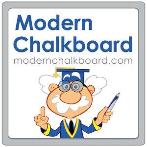 SMART Board Notebook Lessons from Modern Chalkboard 1