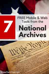7 FREE Mobile & Web Tools from the National Archives-min
