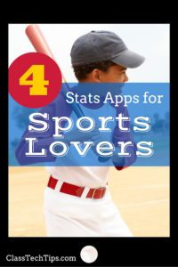 4 Stats Apps for Sports Lovers