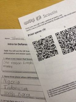 More QR Scavenger Hunts!